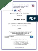 Amelioration de La Maintenance - Zakaria EDDAMANI_5017