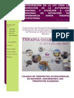 Intervencin de Terapia Ocupacional en Dependencia