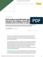 Renda variável_ Porto Seguro Investimentos aposta em diversificação