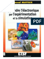 Apprendre l'Electronique Par l'Expérimentation Et La Simulation
