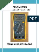 Manual de Utilização de Multímetros Fluke - Versão CEREP - 0.1