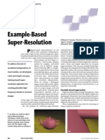 Example Based Resolution