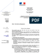 Courrier Profs de SVT 07 04 2020 Collèges Publics