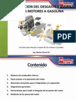 COMPROBACION DE DESGASTE EN EL MOTOR