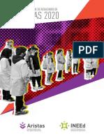 Aristas 2020 Primer Informe de Resultados de Tercero y Sexto de Educacion Primaria