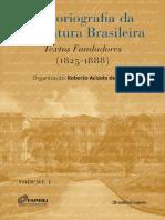 Historiografia Da Literatura Brasileira Volume 1 Final s0n9vf