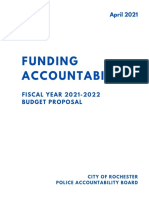 FY 2021 - 2022 PAB Budget Proposal
