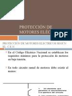 Unidad I - PPT 5 Protección Eléctricas de Motores Eléctricos