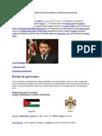 Monarhia ca forma de stat in Iordania