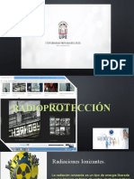 Efectos biológicos de las radiaciones. Protección radiológica