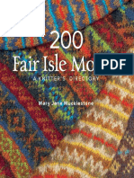 200 Fair Isle Motifs BLAD