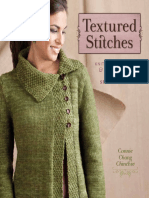 Textured Stitches BLAD