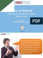 SEOmoz Search Engine Ranking Factors Today & Tomorrow (Mar 11)
