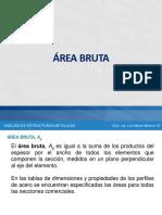 Área Bruta - Neta - Efectiva