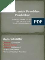 Pertemuan 01 - Pengantar Statistik untuk Penelitian Pendidikan