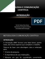 INTRODUÇAO  SEGUNDO AS NORMAS ABNT - UV - OK - AULA 18-DEZ-2020
