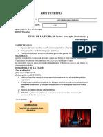 FICHAS DE ARTE Y CULTURA PARA ESTUDIANTES 5°año