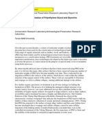 CRL. Wayne, C. y Hamilton, D.L. Polymerization PEG and Glycerine