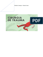 Resumo - Cx do Trauma (Sanar Residência Médica 2020)