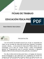 FICHAS EDUC. FISICA PREESCOLAR