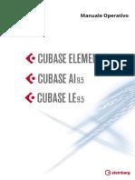Cubase Elements LE AI 9 5 Manuale Operativo It
