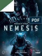 Nemesis REGOLAMENTO 280x280mm 28pagine
