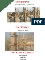 ENCOFRADOS COLUMNAS