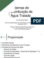 Sistemas de Distribuição de Água Tratada 2015 (1)