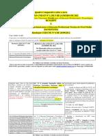 Quadro comparativo e Comentários às novas Diretrizes EPTT - Res. CNE CP nº 1_2021 X Res. CNE nº 06_2012 - Sidinei Cruz Sobrinho