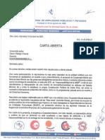 Carta abierta a Coopeservidores ante la no entrega de excedentes a sus asociados