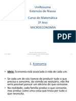 Aula 1 (Microeconomia)