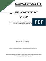 V30R Manual