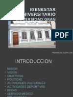 BIENESTAR UNIVERSITARIO