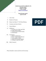 4.21.21 April Board of Trustees Agenda