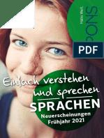 PONS Vorschau FJ2021