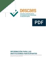 DESCAES Aplicacion 2021-Institucion
