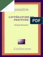 BOURNEUF, Roland. Littérature et peinture