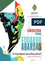 CONVOCATORIA EDUARDO ABAROA 1