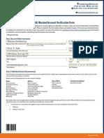 HSA Verification Form - O. Hyde