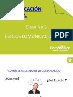 PRESENTACIÓN CLASE No 3