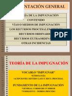 (1) LA TEORÍA DE LA IMPUGNACIÓN Y RECURSOS CIVILES