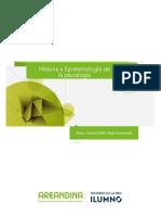 Historia y Epistemología de La Psicología