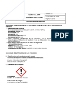 MSDS Jabon Antibacterial