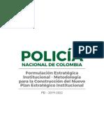 4. Formulación Estrategica Institucional - Metodologia Para La Construccion Del Nuevo PEI