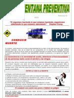 Boletín Ventana Preventiva CVEDL Nº1 Semana 1 2011 Revisado