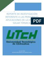 Las Distintas Aplicaciones de La Energía Solar Térmica