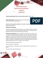 Guía Estación 2 Proyecto Social Comunitario 2