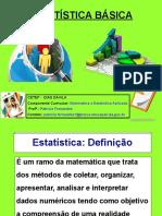 ESTATISTICA INTRODUÇÃO_Profª Patrícia Fernandes