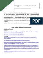 A MATEMATICA DO CORONAVÍRUS_ ATIVIDADE_profª_Patricia_Fernandes