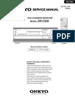 manual Onkyo - Drc500Jp-Sm